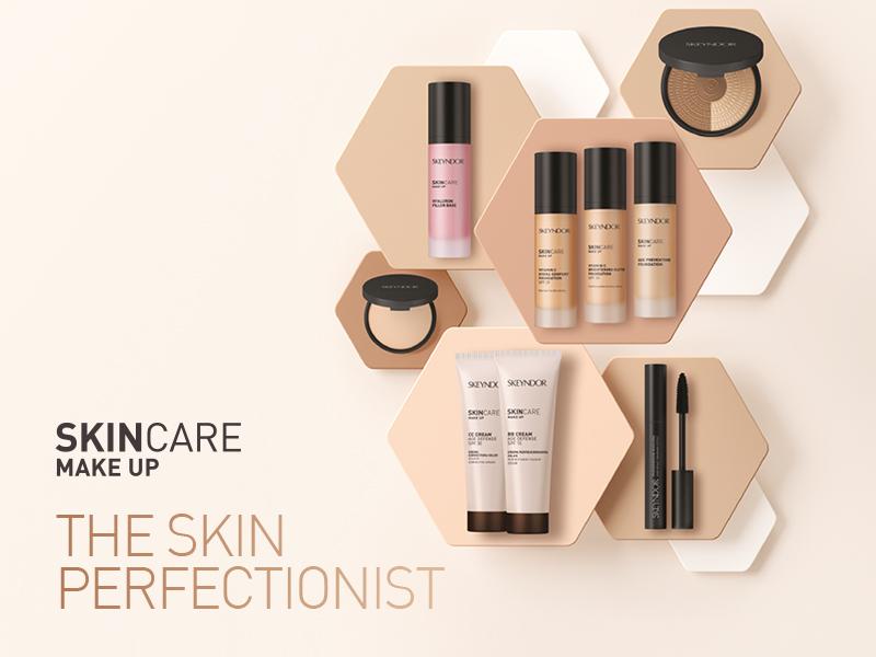 SkinCare Make Up, el nuevo  maquillaje perfeccionador de Skeyndor