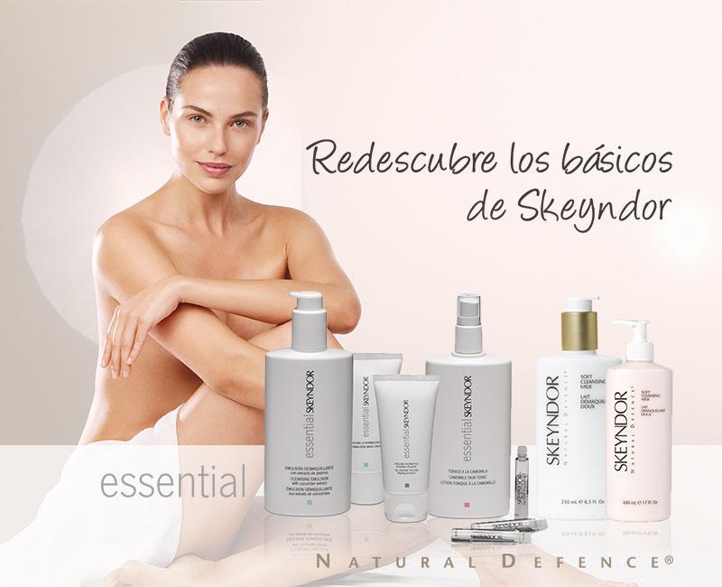 Cuida las pieles más jóvenes con Essential y Natural Defence
