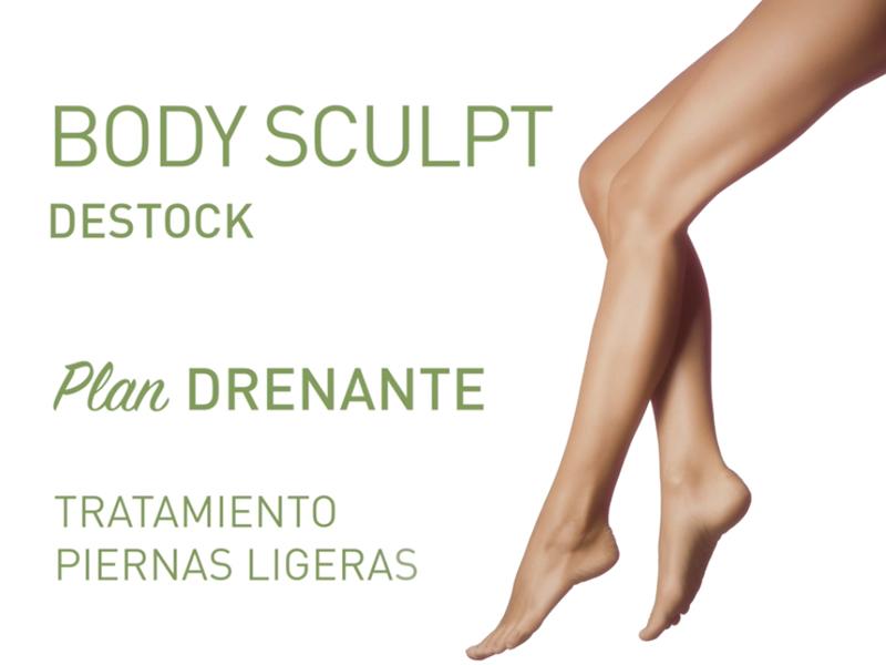 Plan Drenante Body Sculpt Destock, la estrella de los tratamientos corporales