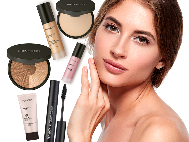 SkinCare Make Up para tres tipos de piel