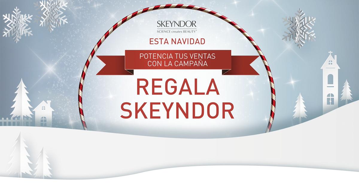 Estas Navidades… Potencia tus ventas con las campañas SKEYNDOR