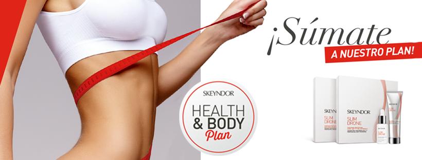 ¡Prepara el cuerpo para le verano! Health & Body Plan de Skeyndor