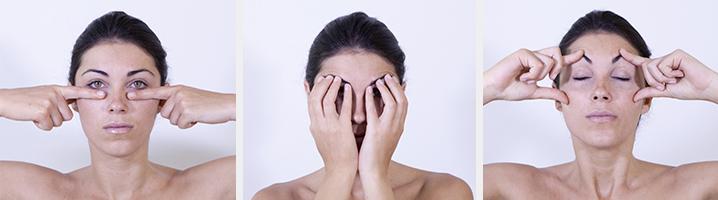 Fortalece el contorno de los ojos con la gimnasia facial