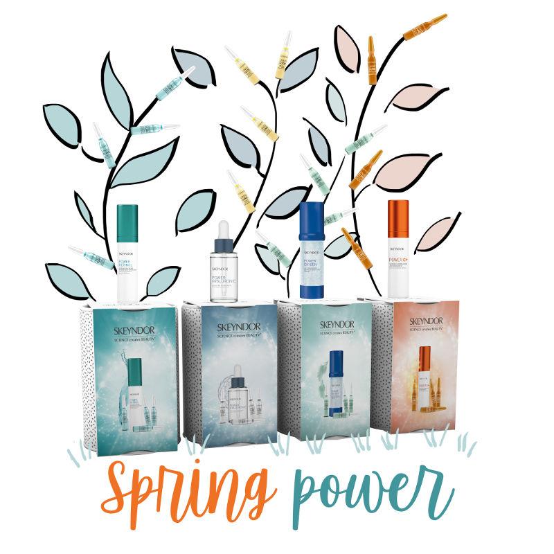 Nueva promoción de la línea Power  para esta primavera